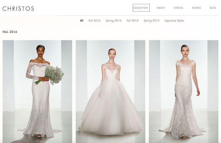 The 62 best wedding dress designer directory images on pinterest christos wedding dress designer bridal list of wedding dress designers designer directory junglespirit Images