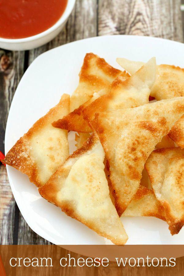 Cream Cheese Wontons [RECIPE LINK] | Recipe