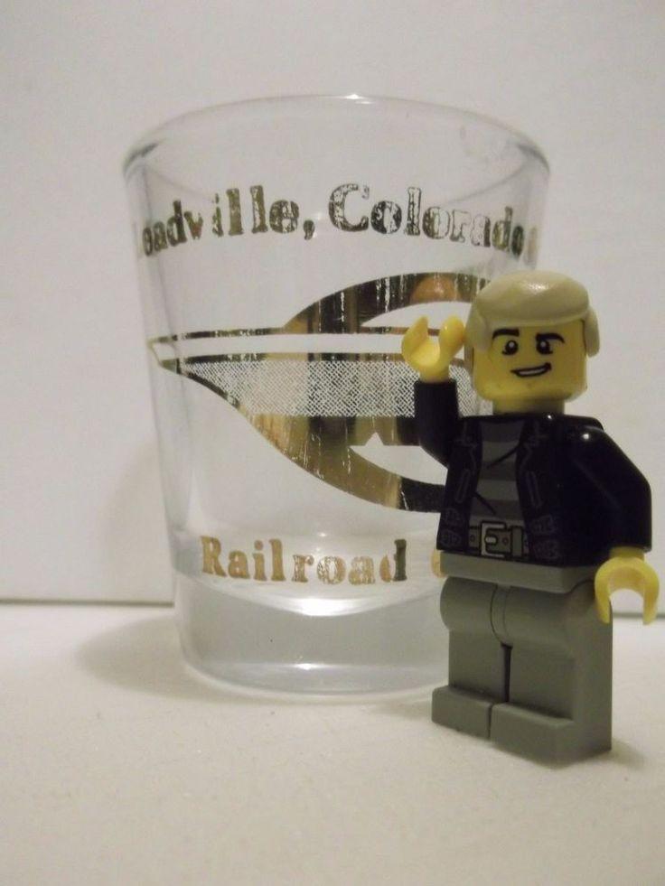 Rare Leadville, Colorado & Southern Railroad Company 1.5 Ounce Shotglass
