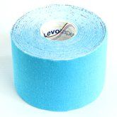 Levotape Kinesiology Tape Blue by Levotape. $7.25. 5cm wide by 5m length. Waterproof, available in a variety of colours which are for fashion purposes only. Helps to support muscles in movement and aids lymphatic drainage. Reduces pain and sport injury recovery time. Top quality kinesiology tape used in professional sport. Levotape is the new top quality kinesiology tape from Vivomed, the UK and Ireland's leading sport physiotherapy supply company. Used by top professio...