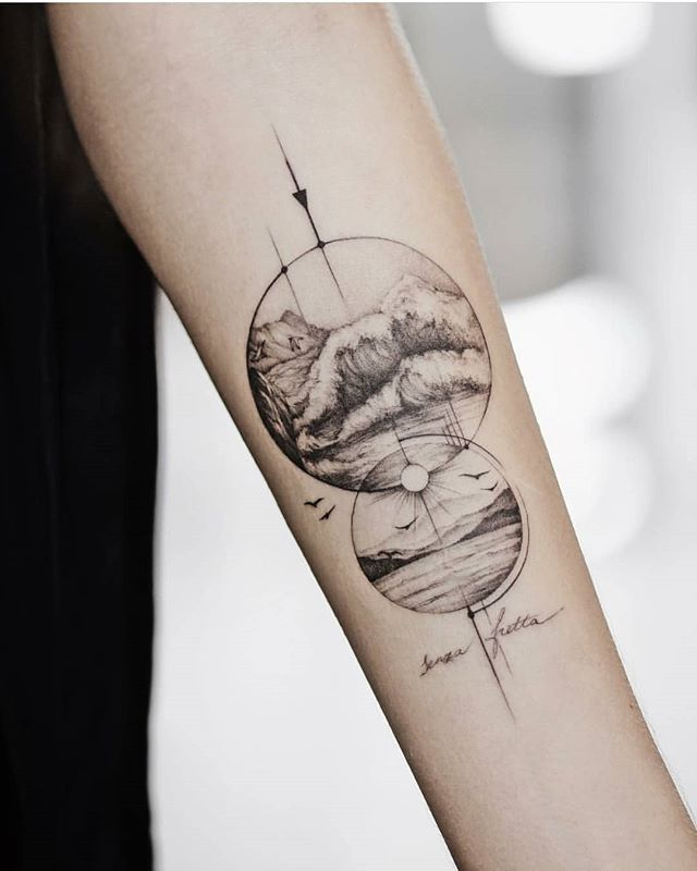 Seek inspiration for a geometric tattoo. – Tattoos – #on # for #Geometric #Inspiration #search