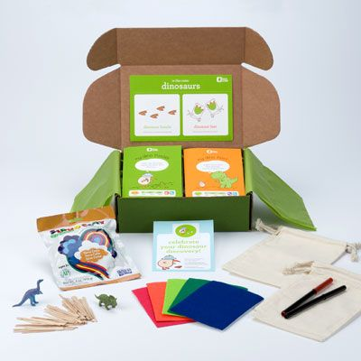 An activity box of the month club that gets mailed to your kid. It's kind of pricey, but how easy would it be to mail your kid a cool activity box each month? Everyone loves getting good mail.