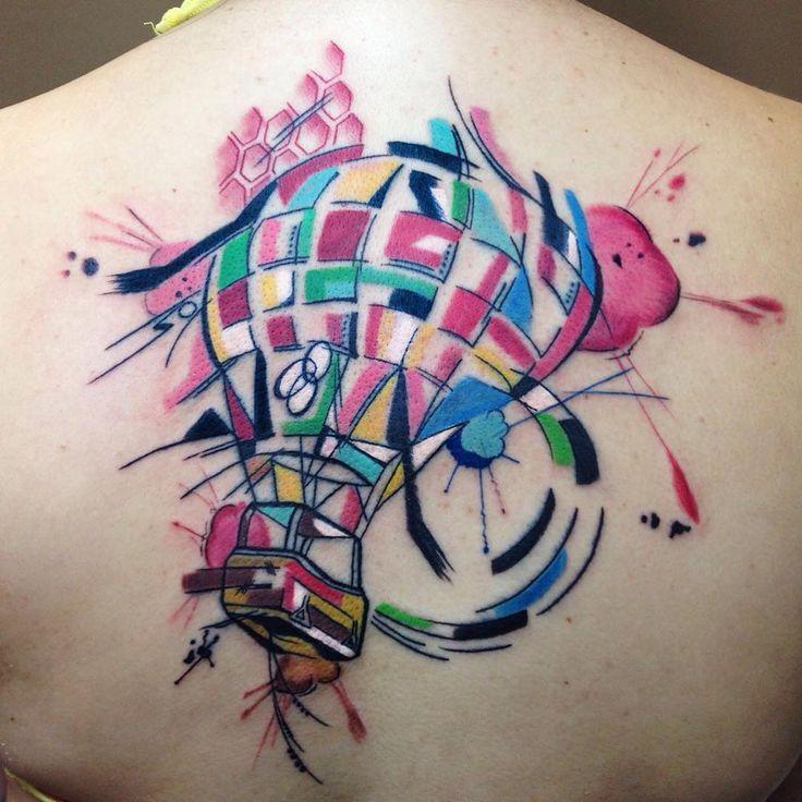 Tattoo artist Sebastian Barone color abstract cubic, space and animal watercolor tattoo | Тату-мастер Sebastian Barone цветные абстрактные татуировки, кубизм, акварель #inkppl #inkpplcom #inked #ink #inkedpeople #inktattoo #tattoo #tatts #tattooartist #tattooing #tattoos #tattooist #art #artist #tattooed #татуировка #тату #colortattoo #cubism #color #colourtattoo #surrealism #surrealismtattoo #designtattoo #design #abstraction #watercolor #watercolortattoo