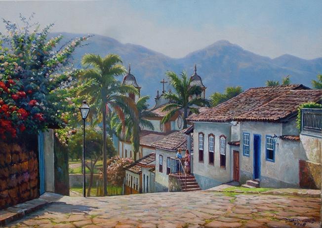 WILSON VICENTE - Tiradentes, 50 x 70