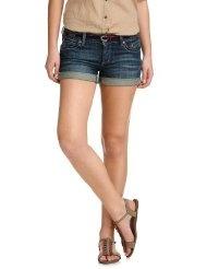 edc by ESPRIT Damen Jeans Short Normaler Bund, 032CC1C004