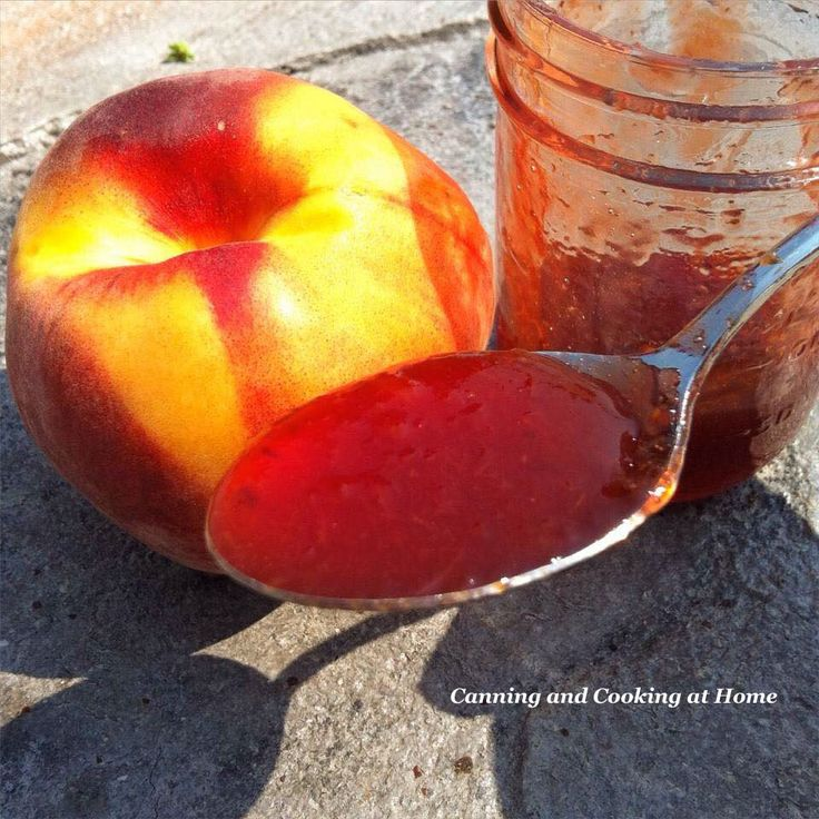 Diane's Peach & Cherry Jam