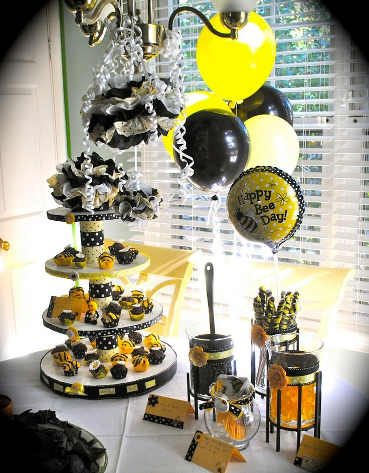 82 Best Bumble Bee Party Images On Pinterest
