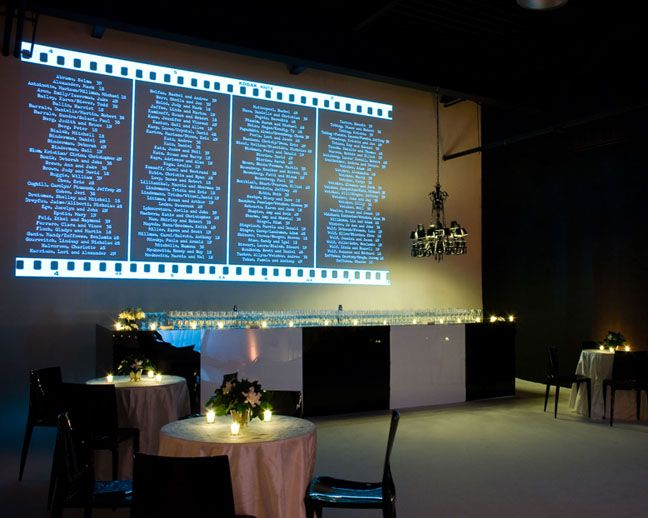Digitally projected escort cards - love technology!: Plans Projects, Charts Escort Cards, Nai Mitzvah, Projects Escort, Escort Cards Seats, Bar Bats Mitzvah, Seats Charts, Digital Projects, Places Cards