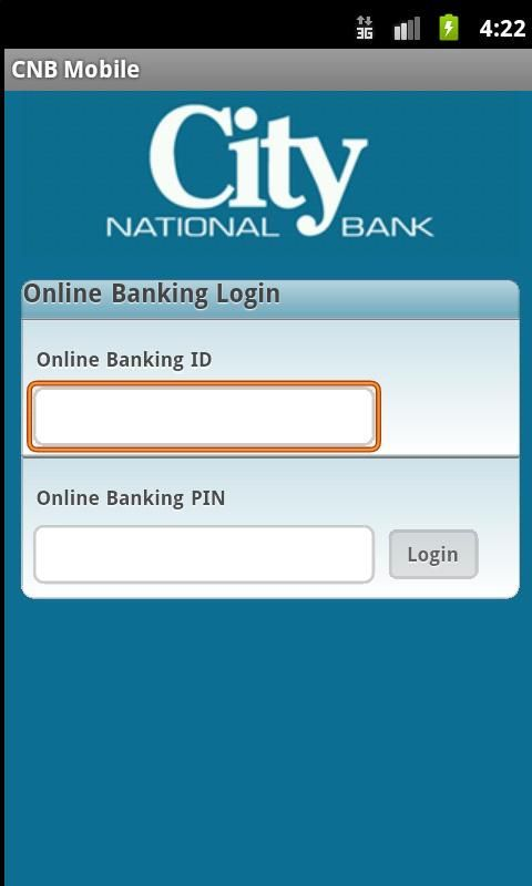 CNB Mobile is a mobile banking solution that enables bank customers to use their Android phone to initiate routine transactions and conduct research anytime, from anywhere.  Customers can view account balances and transaction history, view account alerts, initiate account transfers between City National accounts, and pay bills. <br/><br/>CNB Mobile supports all account types including checking, savings, certificates of deposit, money markets, loans, and lines of credit.   <br/><br/>CNB…