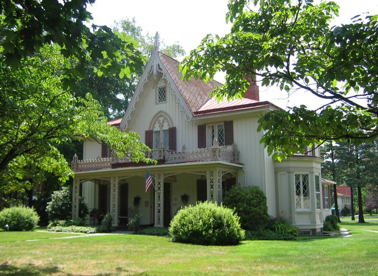 26 best images about exterior gothic revival on for Gothic revival homes for sale