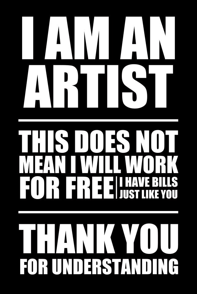would love to have the nerve to print this on the backside of my business card....