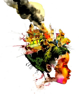 What is your interpretation? David Choe #art