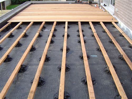 25 beste idee n over dakterras op pinterest dak terras en tuinterras for Maak een overdekt terras