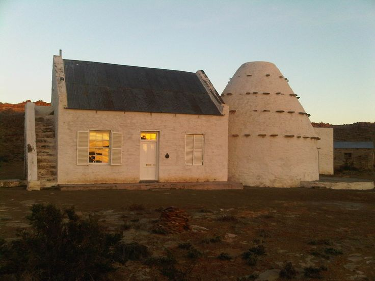 200 year old corbelled house in the Karoo South Africa
