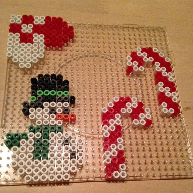 Christmas hama perler beads by silden1985