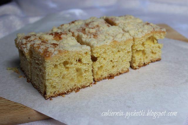 Cukiernia Pychotki: Najprostsze ciasto drożdżowe z kruszonką