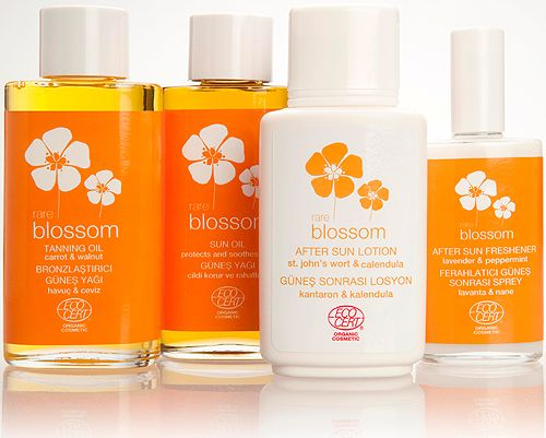 Organic skin care products by rare blossom