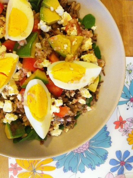 Cobb salad with grains | Favorite Recipes | Pinterest