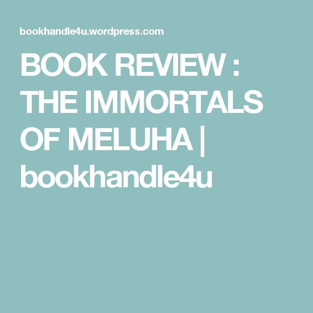 BOOK REVIEW : THE IMMORTALS OF MELUHA | bookhandle4u