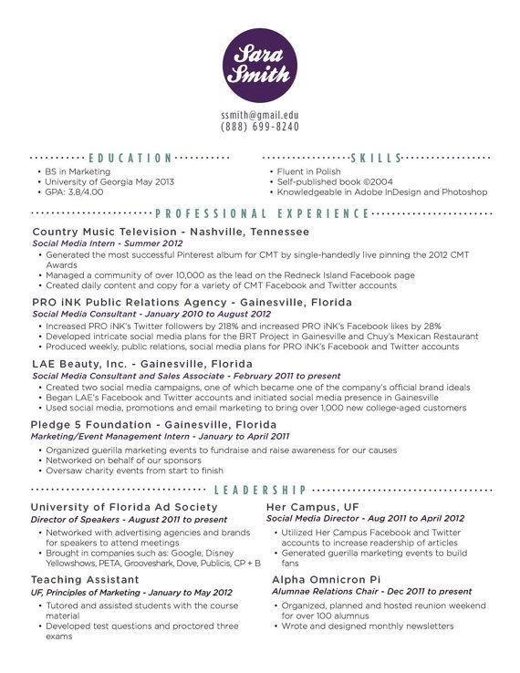 does resume an accent exles of resume titles how