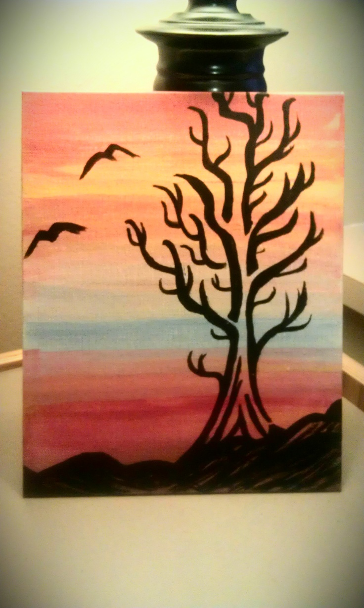 Just a painting I did for the boyfriend.