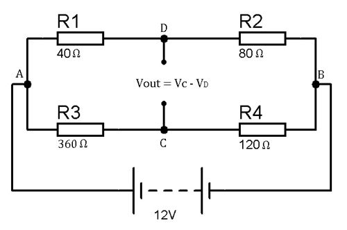 Example for Wheatstone bridge