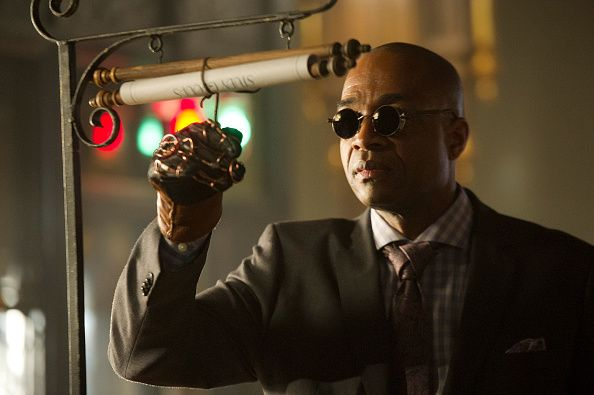 Supernatural's Alpha Vamp, Rick Worthy, in THE MAGICIANS 'The Strangled Heart' Episode 108 as Dean Fogg