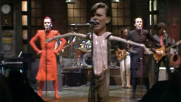 Watch Fred Armisen's Tribute to David Bowie on...: Watch Fred Armisen's Tribute to David Bowie on 'Saturday Night… #SaturdayNightLive #SNL