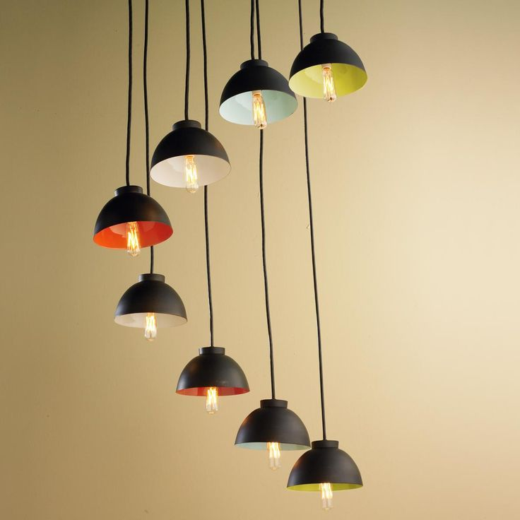 8 Light Pop Color Chandelier 119 best