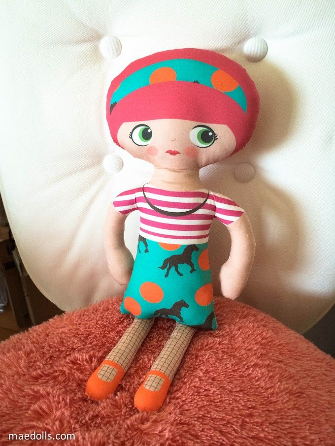 MAE Style 3 - MAE Dolls   Make it your very own.