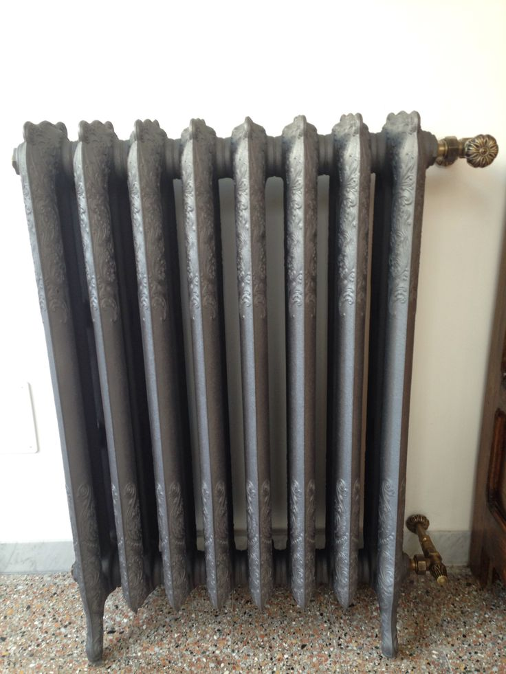Cast iron radiator!