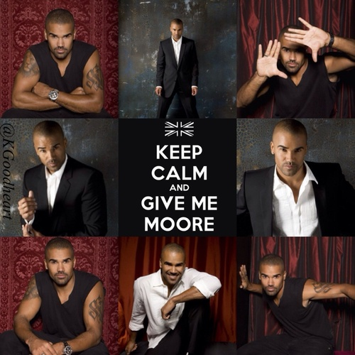 Ok I admit I have a unhealthy obsession with Shemar Moore but he's just soo damn sexy!