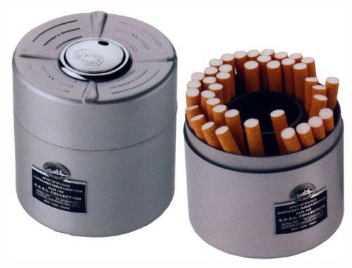 сигаретница-зажигалка настольная