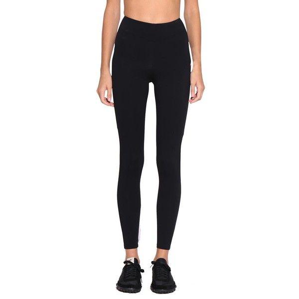Sapopa Peplum leggings ($209) ❤ liked on Polyvore featuring pants, leggings, black, spandex leggings, spandex pants, elastic waistband pants, lycra leggings and stretch trousers