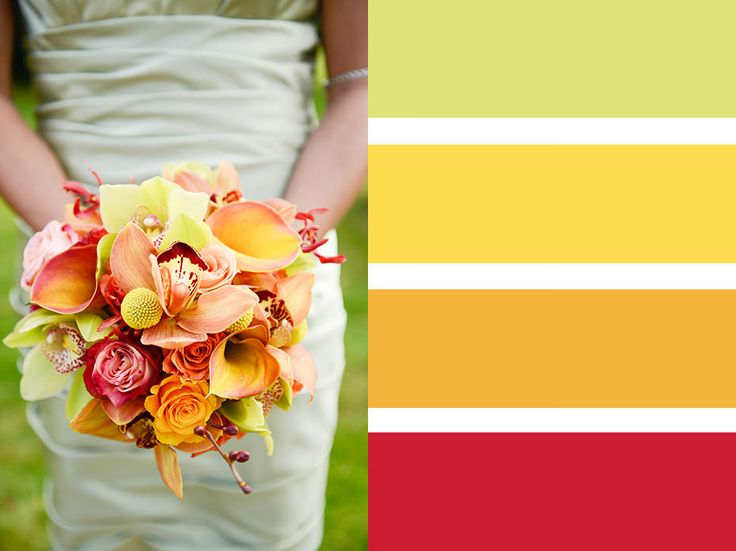 Bouquet Colour Palettes ~ Choosing A Colour Scheme | Surrey Wedding Photography