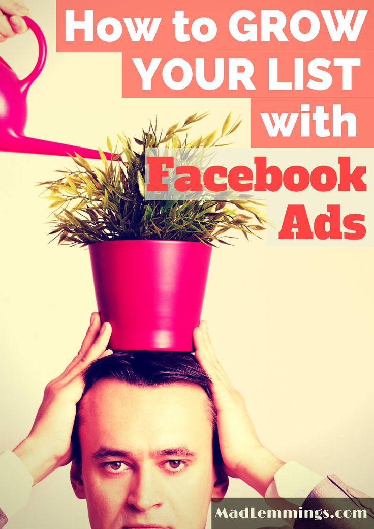Learn how to grow your list by using Facebook Ads, You can't rely on Google or Social Media, so why not drive targeted traffic to your website.