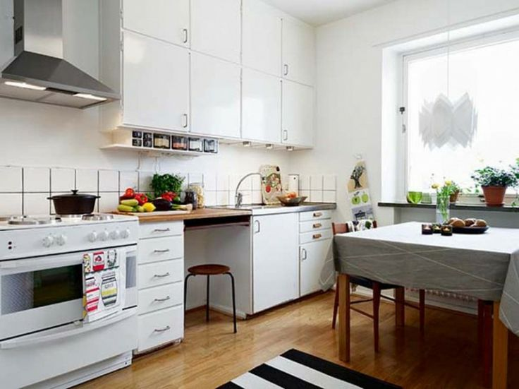 Kitchen Design For Small Flat