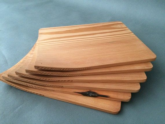 Hand crafted Tasmanian Blackwood and Recycled Oregon plates and platters. Excellent for sandwiches and mixed plates, in casual dining situations and in place of the family silver. Simple, enduring and made from uniquely beautiful pieces of timber. Best in a sets.  PLATES  $25AUD for one $94AUD for four $132AUD for six  PLATTERS  $50AUD for one $94AUD for two $132AUD for three
