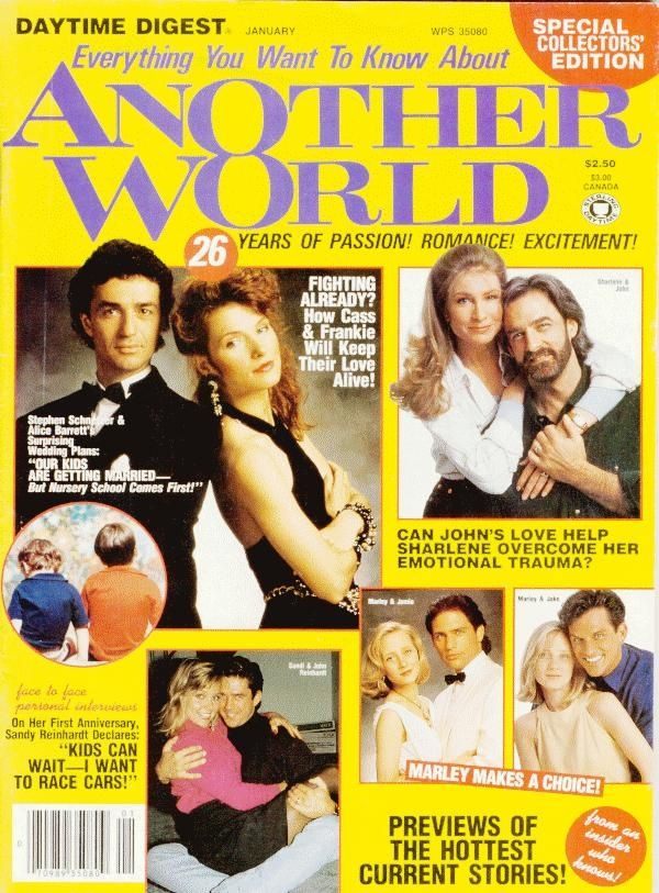 Another World Soap Opera | ANOTHER WORLD: PUBLICATIONS ... Daytime Digest | Soap Operas