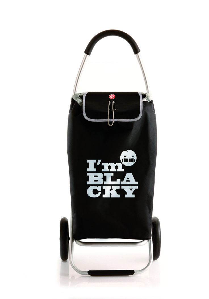 Roadrunner Folding Grocery Shopping Cart BLACKY