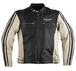 Triumph Ashford Leather Motorcycle Riding Jacket