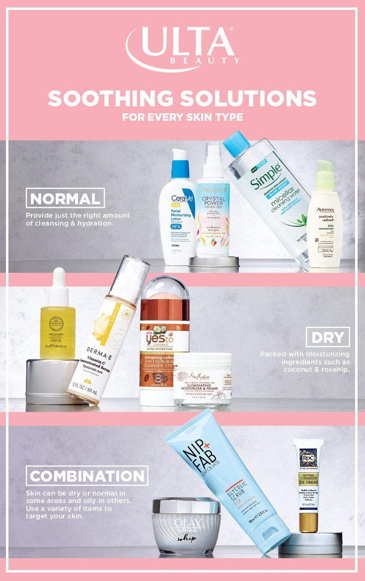 Skincare Routines They Don T Have To Be Hard Promise Start With Your Skin Type Normal Dry Or Co Skin Care Routine Combination Skin Care Skin Care Solutions