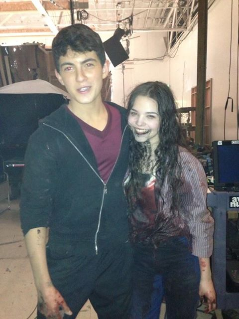 Derek (Ian Nelson) And Paige