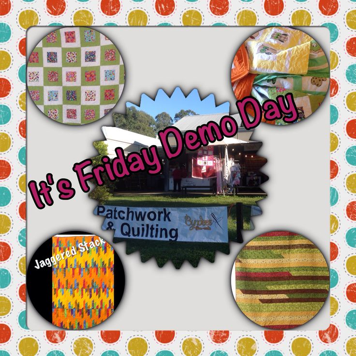 Friday Demo Day is here again - come along for a fun day at #eumundisquaremarkets - I will be sewing but happy for a chat - #fashionparade will be on at 11am - make a day of it ☀️www.byndees-precuts.com #eumundisquaremarkets #iloveeumundimarkets #handmadequilts #foodnetcover #visitnoosa #brightquilt #jellyrolls #sunshinecoast #handmade #handmadeonsunshinecoast #fabric #patchwork #quilting #owlquilt #newbornquilt #appliquequilt #quiltlabel