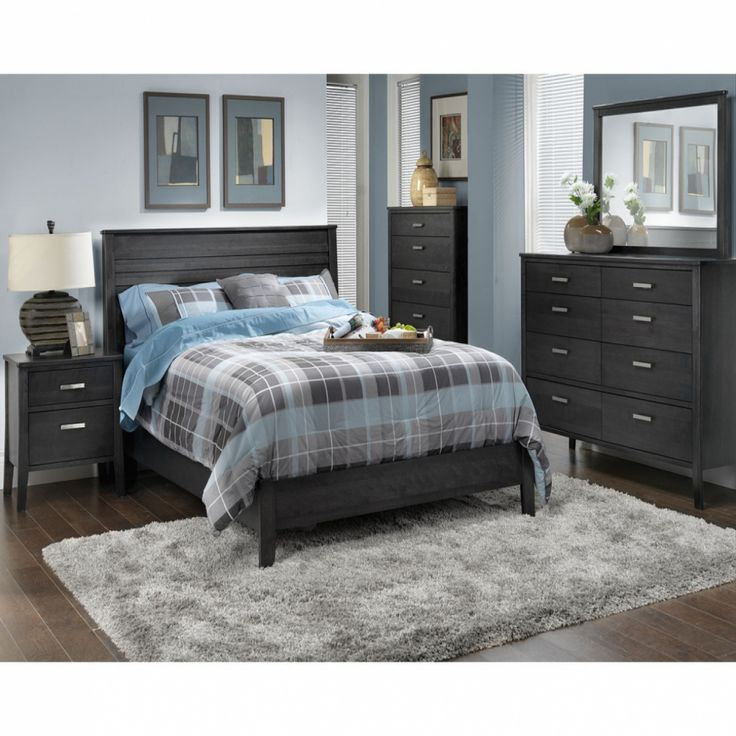 Charcoal grey bedroom furniture