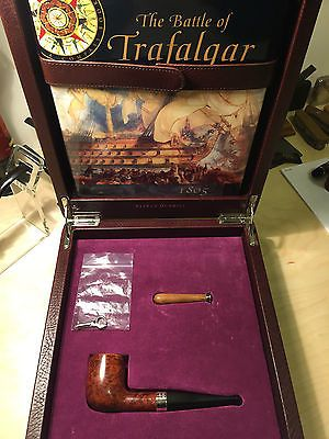 Alfred Dunhill Pipe Battle of Trafalgar 2002 55 of 100 With Box Amber Root 5103