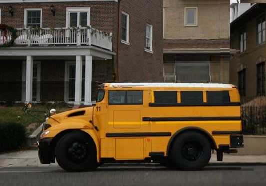Photoshopped concept - Bobbed and chopped school bus ... Concept School Bus