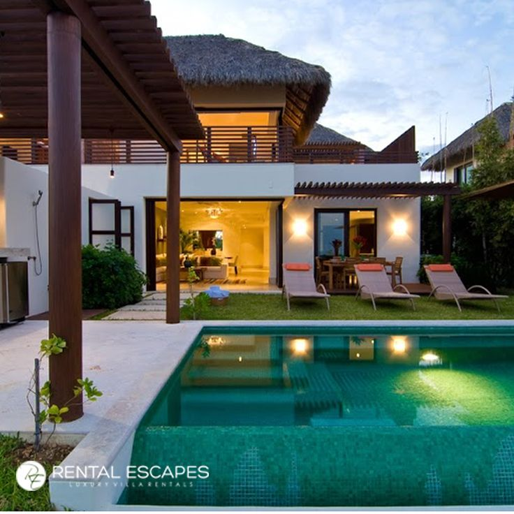 Escape the cold weather, and stay at Villa Jade in Punta Mita. This luxury home includes five-star hotel amenities and services with its private concierge, chefs, and cleaning staff. Perfect for the vacationer who plans to unwind in the sun.