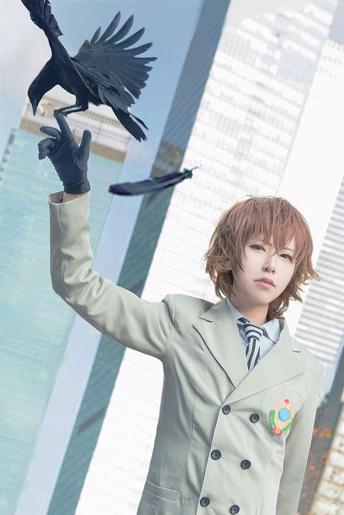 Eva (龟田) Akechi Goro persona5