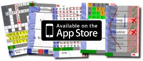 A website filled with crosswords, word searchs and themed printable flashcards
